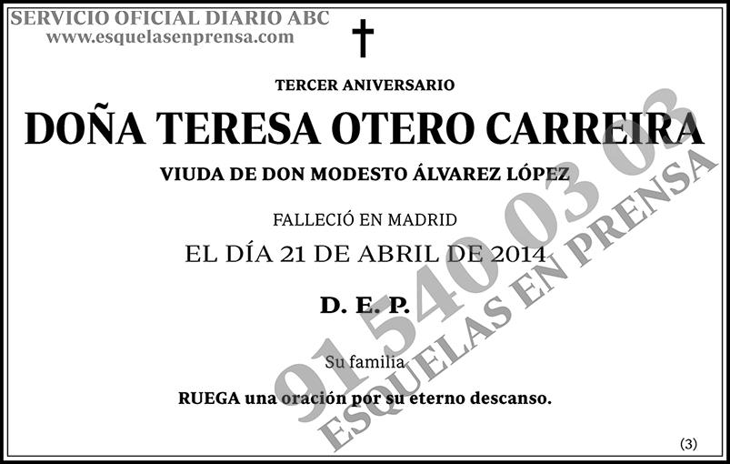 Teresa Ortero Carreira